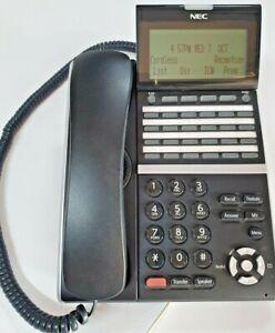 4x NEC DTZ-24D-3A(Bk) tel DT400 series 12 months w/ty. Tax invoice
