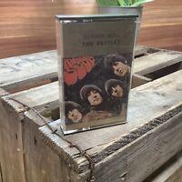 The Beatles Rubber Soul Album TC-PCS UK - RARE 1965 Cassette Tape EMI Records