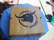 Texas Steer Men's Martinus Work Boots Oil Slip resistance SIZE 7 1/2 M BRAND NEW