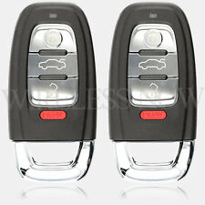 2 Car Key Fob Keyless Entry Smart Remote For 2011 2012 2013 2014 2015 Audi S3