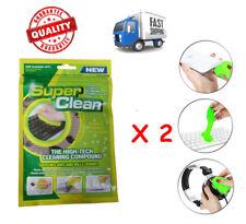 Super Clean Dust 2 Pack  Magic Compound Slimy Gel Keyboard Cyber Cleaner Dirt AU