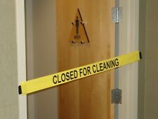 Magnetic Door Barrier - Nylon Banner with Magnetic Ends