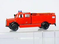 Brekina  MB Mercedes  Feuerwehr TLF 16 Metz   in Vitrine 1:87  H0  TOP OVP