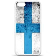 Coque housse étui tpu gel motif drapeau Marseille Iphone 5 / 5S