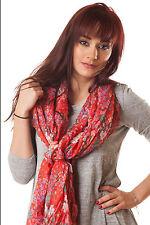 Foulard rouge motif floral Skys Lingerie