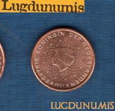 Pays Bas 2001 2 Centimes d'euro SUP SPL Pièce neuve de rouleau - Netherlands