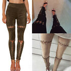Fashion Womens Casual Stretch Skinny Leggings Pencil Pants Slim Trousers New