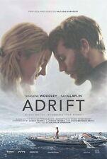 ADRIFT Original Double-Sided Movie Poster 27 x 40 Shailene Woodley Sam Claflin