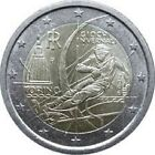 ITALIE 2 Euros Jeux Olympiques Turin 2006 UNC