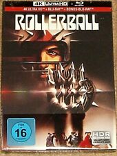 ROLLERBALL 4K UHD COLLECTORS EDITION MEDIA BOOK / IMPORT / WORLDWIDE SHIPPING