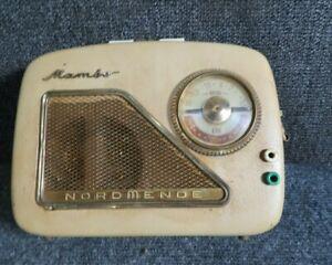 Vintage Radio  Mambo  Nordmende  radio