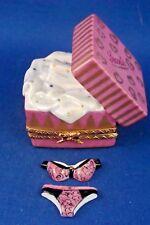 Open Lingerie Box - Secrets - French Limoges box