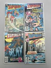 Lot of 4 Supergirl (1982 2nd Series) #1-4 VF Very Fine