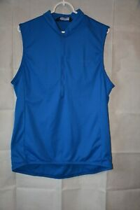Performance Bicycle Jersey Sleeveless Blue Extra Large For USA Charity!!!