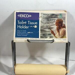 Vintage NOS EKCO Toilet Tissue Holder