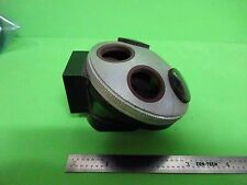 FOR PARTS MICROSCOPE PART LEITZ NOSEPIECE ?? AS IS BIN#3K-FT-5