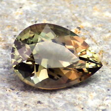 GREEN DICHROIC OREGON SUNSTONE 3.95Ct FLAWLESS-FROM PANA MINE-FOR JEWELRY!