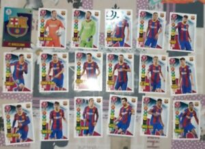 18 BASICOS FC BARCELONA. ADRENALYN XL 2020 2021. NUEVO DE SOBRE.