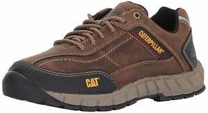 Caterpillar Men's Streamline Leather/Dark Beige Athletic Work Shoes