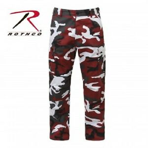 Rothco 7915 Ultra Force Red Camouflage B.d.u.pants Xsmall - 3xl