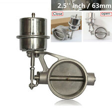 2.5'' Stainless Steel inch Exhaust Control Valve Set Vacuum Actuator Open Style