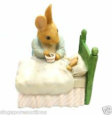 COLLECTIBLE 1994 BEATRIX POTTER MRS.RABBIT PETER RABBIT BED SUPPER COIN BANK