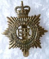 Badge- VINTAGE Royal Army Service Corps Cap Badge, QC (All BRASS) JR GAUNT