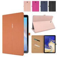 For Samsung Galaxy Tab A 10.5 SM-T590/T595 Case,Smart Premium Leather Slim Cover