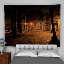City Light Wall Hanging Tapestry Psychedelic Bedroom Home Decoration