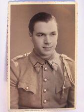 12C1 CPA CARTE PHOTO DE SOLDAT 309 e R.A.L RÉGIMENT ARTILLERIE LOURDE WWII 39/45