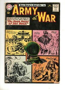 Our Army at War #127 2ND ALL SGT.ROCK ISSUE! 1ST APP LITTLE SURE-SHOT! 1963 VG-