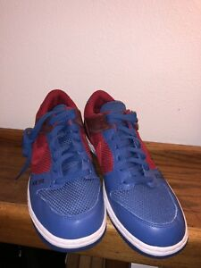Nike Air Zoom Dunk low Ronaldinho Home colorway Red/Blue size 10.5