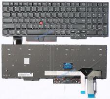 Original New for lenovo IBM Thinkpad E585 E590 E595 laptop keyboard non-backlit