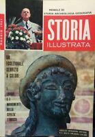 STORIA ILLUSTRATA MAGGIO 1961 LUOGHI E MONUMENTI ETRUSCHI