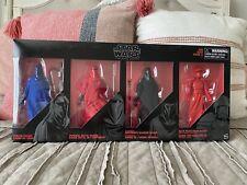 Star Wars Black Series 6? 4 Pack Guard Set Senate/Royal/Shadow/Praetorian Hasbro