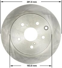 Premium Brake Rotor fits 2009-2009 Toyota Matrix  BENDIX