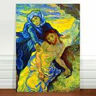 Vincent Van Gogh Peter After Cruxifix ~ FINE ART CANVAS PRINT 8x12""