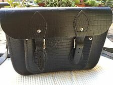 "The Cambridge Satchel Company 11"" Faux Crocodile Leather ~ASOS Exclusive"