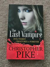 The last vampire by Christopher Pike (Paperback)