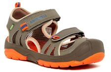 NEW Merrell Boys Hydro Rapid MC54844 Sandal Shoes Gunsmoke Hiking 2W WIDE UNISEX