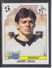 Panini - Italia 90 World Cup - # 365 Javier Zeoli - Uruguay