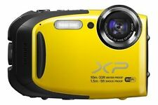 Fujifilm FinePix X Series XP70 16.4MP Digital Camera - Yellow