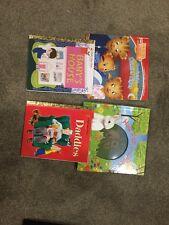 LOT Of Children's Kids Books Little Golden Book Daniel Tiger Bunny Bedtime Story