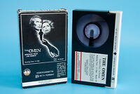 Vintage THE OMEN Beta / Betamax Movie Video Cassette | 1980 Magnetic | FREE S&H