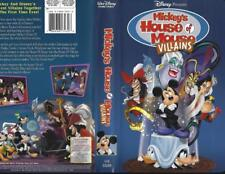 VHS: DISNEY'S MICKEY'S HOUSE OF MOUSE VILLAINS#