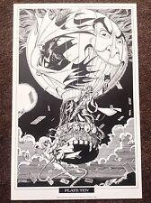 Batman Imprimir George Perez 1990 Vintage Comic Art Raros Nuevos Titanes Dc Fantasía 10