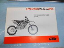 2004 KTM 105 SX Chassis & Engine Spare Parts Manuel 3208117