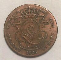 1833 Belgium 5 Centimes - Des Belges