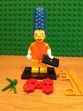 LEGO SERIES 2 SIMPSONS ; MARGE IN FANCY DRESS. MINT CONDITION