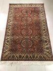 Vintage Hand Knotted Indian Carpet